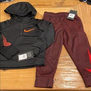 NEW Kids Nike 2pc Dri-Fit Hoodie & Joggers Bundle